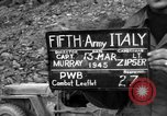 Image of German soldiers Italy, 1945, second 5 stock footage video 65675045527