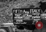Image of German soldiers Italy, 1945, second 6 stock footage video 65675045527