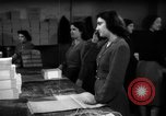 Image of propaganda leaflet bundles World War 2 Italy, 1945, second 8 stock footage video 65675045532