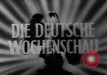 Image of Reich Protector Dr. Wilhelm Frick Czechoslovakia, 1943, second 8 stock footage video 65675045539