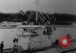 Image of German submarine Germany, 1943, second 12 stock footage video 65675045544