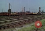 Image of marshaling yard Berlin Germany, 1961, second 5 stock footage video 65675045566