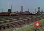Image of marshaling yard Berlin Germany, 1961, second 6 stock footage video 65675045566