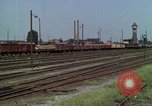 Image of marshaling yard Berlin Germany, 1961, second 9 stock footage video 65675045566