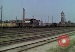 Image of marshaling yard Berlin Germany, 1961, second 12 stock footage video 65675045566