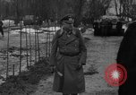 Image of Marshal Erick von Manstein lays wreath on grave of General  Schulz Ukraine, 1944, second 2 stock footage video 65675045585
