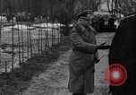 Image of Marshal Erick von Manstein lays wreath on grave of General  Schulz Ukraine, 1944, second 3 stock footage video 65675045585