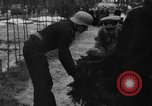 Image of Marshal Erick von Manstein lays wreath on grave of General  Schulz Ukraine, 1944, second 8 stock footage video 65675045585