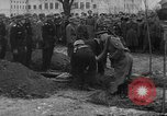 Image of Marshal Erick von Manstein lays wreath on grave of General  Schulz Ukraine, 1944, second 9 stock footage video 65675045585