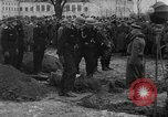 Image of Marshal Erick von Manstein lays wreath on grave of General  Schulz Ukraine, 1944, second 11 stock footage video 65675045585