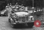 Image of US Army POWs and German advances near Malmedy Malmedy Belgium, 1944, second 12 stock footage video 65675045610