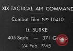 Image of P-47 strafing roads European Theater, 1945, second 2 stock footage video 65675045654