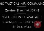 Image of air-to-air attack European Theater, 1944, second 4 stock footage video 65675045667