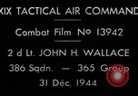 Image of air-to-air attack European Theater, 1944, second 5 stock footage video 65675045667