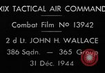 Image of air-to-air attack European Theater, 1944, second 6 stock footage video 65675045667