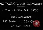 Image of air-to-air attack European Theater, 1944, second 4 stock footage video 65675045679