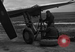 Image of Mechanics performing maintenance on P-47s Chievres Belgium, 1944, second 9 stock footage video 65675045686