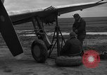 Image of Mechanics performing maintenance on P-47s Chievres Belgium, 1944, second 10 stock footage video 65675045686