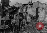 Image of wreckage in area Verdun France, 1916, second 10 stock footage video 65675045731
