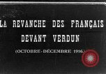Image of war damage Verdun France, 1916, second 1 stock footage video 65675045733
