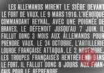 Image of Vaux Fort Verdun France, 1916, second 5 stock footage video 65675045736