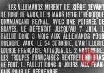 Image of Vaux Fort Verdun France, 1916, second 6 stock footage video 65675045736