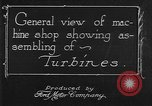 Image of turbine United States USA, 1918, second 9 stock footage video 65675045746