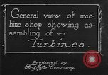 Image of turbine United States USA, 1918, second 10 stock footage video 65675045746