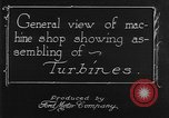 Image of turbine United States USA, 1918, second 12 stock footage video 65675045746