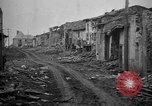 Image of damaged area Germany, 1917, second 8 stock footage video 65675045750