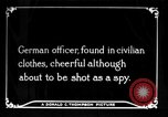 Image of German spy France, 1916, second 1 stock footage video 65675045776