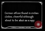 Image of German spy France, 1916, second 4 stock footage video 65675045776