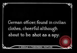 Image of German spy France, 1916, second 8 stock footage video 65675045776