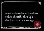 Image of German spy France, 1916, second 10 stock footage video 65675045776