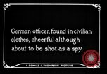 Image of German spy France, 1916, second 11 stock footage video 65675045776