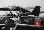 Image of German Luftwaffe He-115 attacks ship European Theater, 1940, second 11 stock footage video 65675045793