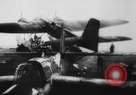Image of German Luftwaffe He-115 attacks ship European Theater, 1940, second 12 stock footage video 65675045793