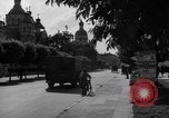 Image of military occupation and street scenes Ukraine, 1943, second 4 stock footage video 65675045859