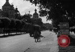 Image of military occupation and street scenes Ukraine, 1943, second 5 stock footage video 65675045859