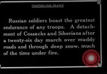 Image of Russian soldiers Caucasus, 1916, second 7 stock footage video 65675045896