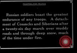 Image of Russian soldiers Caucasus, 1916, second 12 stock footage video 65675045896