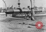Image of French compressed air driven Torpedo France, 1916, second 5 stock footage video 65675045898