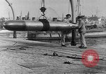 Image of French compressed air driven Torpedo France, 1916, second 6 stock footage video 65675045898