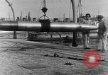 Image of French compressed air driven Torpedo France, 1916, second 8 stock footage video 65675045898