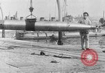 Image of French compressed air driven Torpedo France, 1916, second 10 stock footage video 65675045898