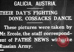 Image of cossacks Galicia Ukraine, 1916, second 1 stock footage video 65675045906