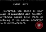 Image of Russian civilians after World War 1 Petrograd Russia, 1919, second 1 stock footage video 65675045912