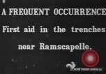 Image of Belgian troops Ramscapelle Belgium, 1914, second 1 stock footage video 65675045914