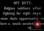 Image of Belgian troops Belgium, 1914, second 5 stock footage video 65675045915