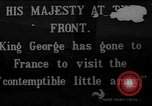 Image of King George V France, 1914, second 1 stock footage video 65675045919